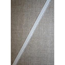 Kantelastik grå-hvid med små takker-20