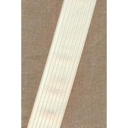 Elastik til bælter 60 mm. offwhite-20
