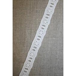 Feston hvid 20 mm til bånd-20