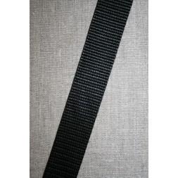 Nylon gjordbånd 30 mm. sort-20