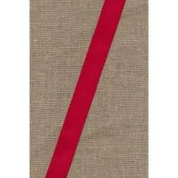 Bomuldsbånd/Gjordbånd rød, 20 mm.-20