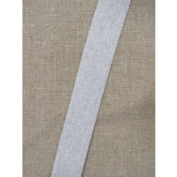 Kraftig gjordbånd 30 mm. meleret lysegrå-20