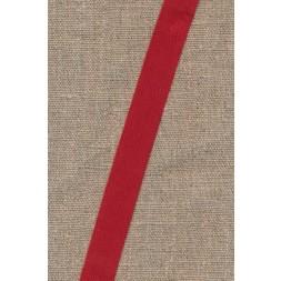 Gjordbånd/bændel sildebensvævet i rød 16 mm.-20