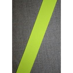 Rest Bånd grosgrain neon gul 42 cm.-20