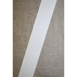 Bomuldsbånd/Gjordbånd hvid, 30 mm.-20