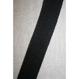 Hørgjord-bånd 40 mm. sort-20