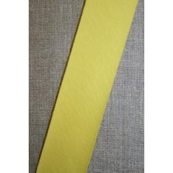 Kantbånd skråbånd i jersey, lys gul-20