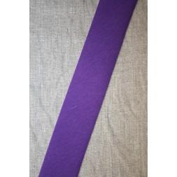 Kantbånd skråbånd i jersey, lilla-20