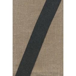 Kantbånd skråbånd i jersey, koksgrå-meleret-20