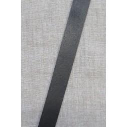 Læderrem i sort 2 cm. x 115 cm.-20