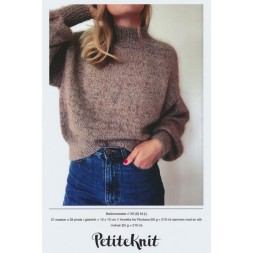 Ballonsweater PetiteKnit strikkeopskrift-20