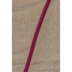 Paspoil-/piping bånd i bomuld, vinrød-20