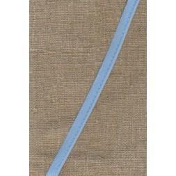 Paspoil-/piping bånd i bomuld, babylyseblå-20