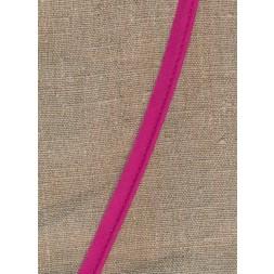 Paspoil-/piping bånd i bomuld, mørk pink-20