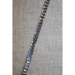 Pallietbånd gl. sølv koksgrå-20