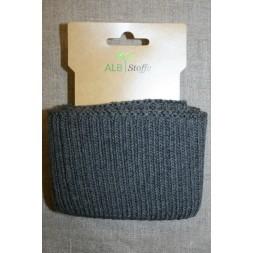 Ribkant groft look mørk grå 70 mm x 110 cm.-20