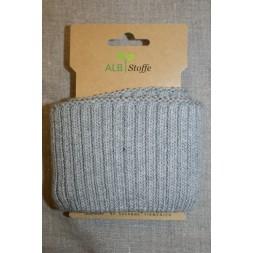 Ribkant groft look lys grå 70 mm x 110 cm.-20
