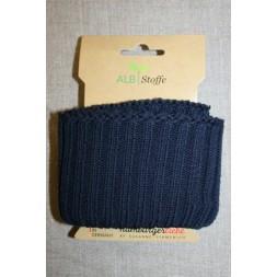 Ribkant groft look mørkeblå 70 mm x 110 cm.-20