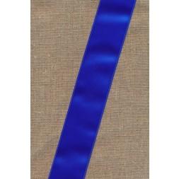 Satinbånd koboltblå 40 mm.-20