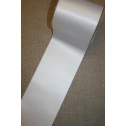 Satinbånd hvid 100 mm.-20