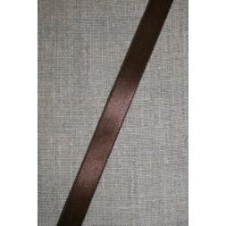 Satinbånd chokoladebrun 15 mm.-20