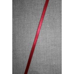 Satinbånd mørk rød 6 mm.-20