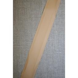 Skråbånd imiteret læder, beige-20