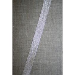 Skråbånd lame, sølv-20