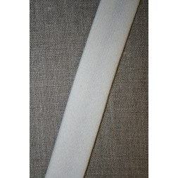 Skråbånd i uld, off-white-20