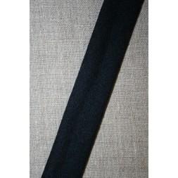 Skråbånd i uld, mørkeblå-20