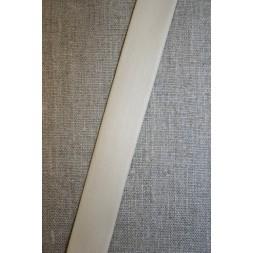Skråbånd imiteret blød læder, off-white-20
