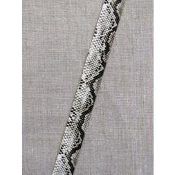 Skråbånd i kunstlæder i slangeprint-20