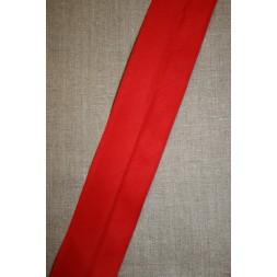 Bred bomulds-skråbånd 60 mm. rød-20