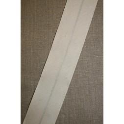 Bred bomulds-skråbånd 60 mm. off-white-20
