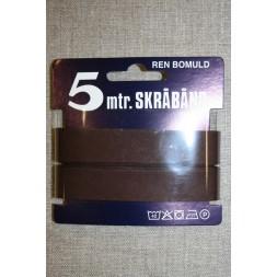 5meterbomuldsskrbndmrkchokoladebrun-20