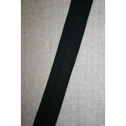 Kantbånd/Foldebånd i sort-20