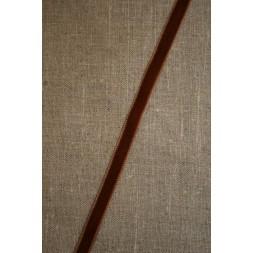 Velourbånd nøddebrun 9 mm.-20