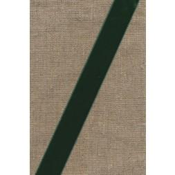 Velourbånd flaskegrøn 22 mm.-20