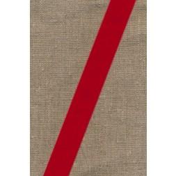 Velourbånd rød 22 mm.-20