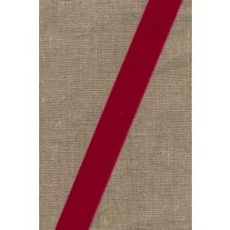 Velourbånd mørk rød 22 mm.-20