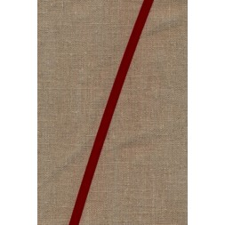 Velourbånd mørk rød 9 mm.-20
