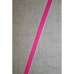 Velourbånd rosa/pink 9 mm.-20