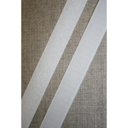 20 mm. velcro hvid-20