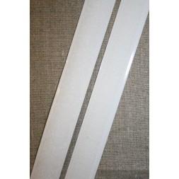 Rest 20 mm. velcro med lim selvklæbende, hvid loop 180 cm.-20