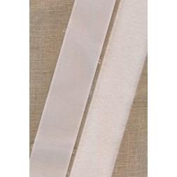 Rest 50 mm velcro hvid med lim selvklæbende, 95 cm. loop-20