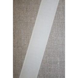 30 mm. velcro knækket hvid, hook-20