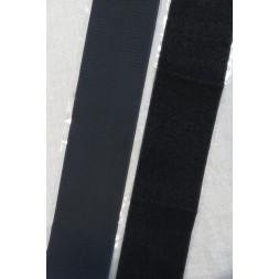 100 mm. velcro sort med lim selvklæbende-20