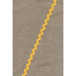 Zig-zag bånd ternet gul-20