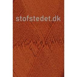 Aloe strømpegarn i lys rust fv.5640-20