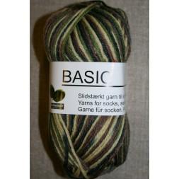 Basic uld/polyamid, Camouflage beige/army/brun/mørkegrøn-20